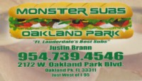 Monster Subs - Oakland Park